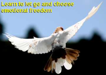 Learn to let go and choose emotional freedom